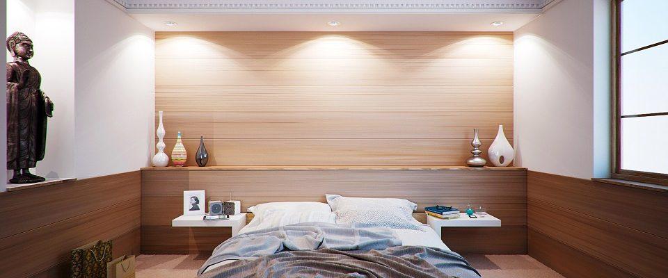 V modernej spálni sa vždy lepšie spí